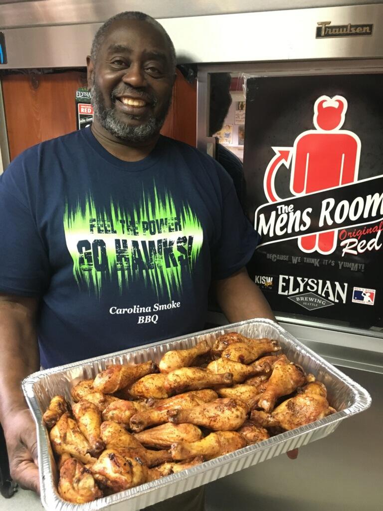 Carolina Smoke BBQ Chicken Wings Catering